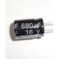 680uF/16V
